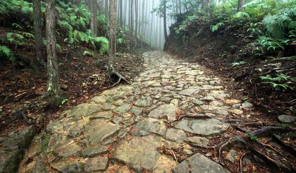 Kumano Kodo, Nakahechi Route, Stone Trail