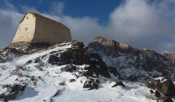 Mt Sinai In The  Snow, Sinai Trail
