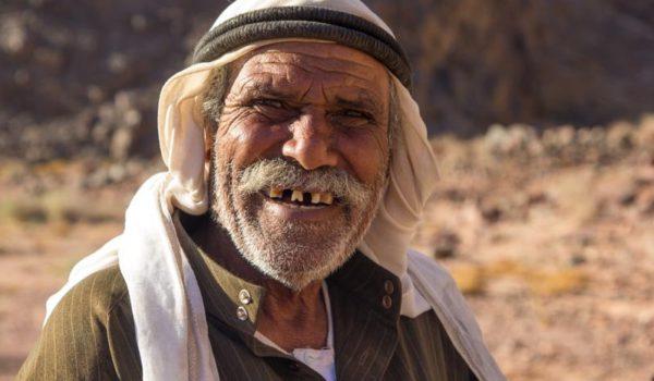 Sinai Trail, Bedouin Guide Of The Tarabin Tribe