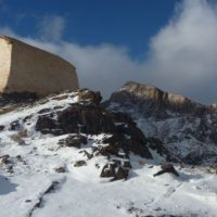 Mt Sinai in the  snow, Sinai Trail