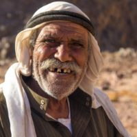 Sinai Trail, Bedouin Guide of the Tarabin tribe
